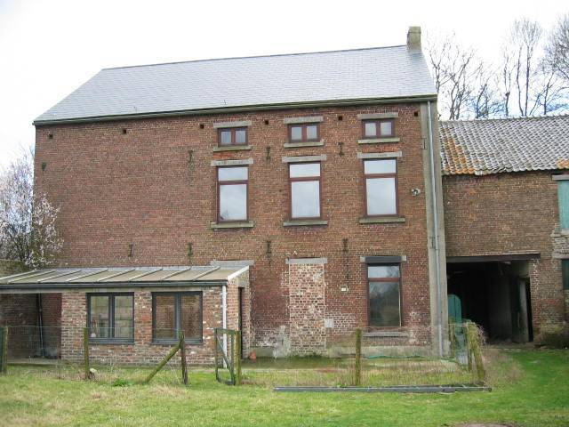 Verbouwing landhuis Belgie
